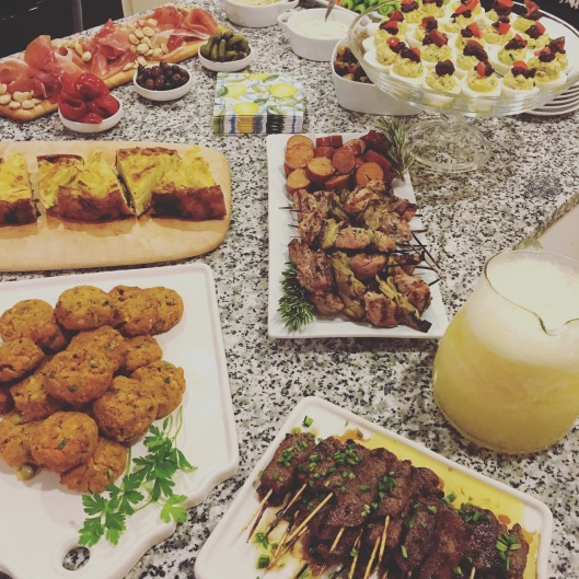 Our Tapas Party Spread
